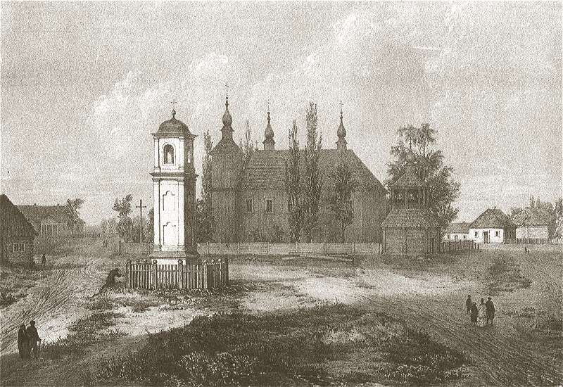 Страчаныя езуіцкія касцёлы на малюнках Напалеона Орды