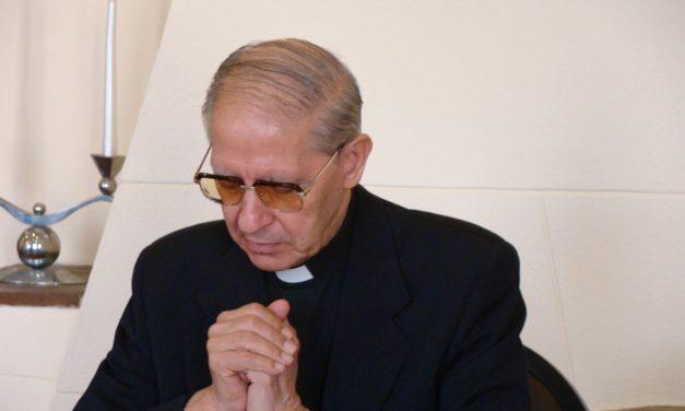 Малітва айца Адольфо Нікалáса SJ