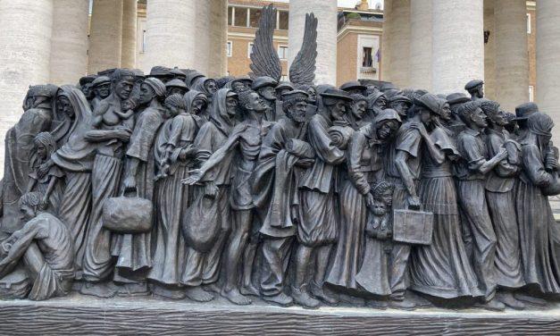 Францішак падзякаваў езуітам за дапамогу бежанцам
