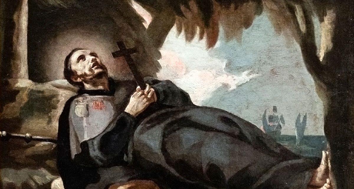 """""""Не пераставаць спадзявацца на Бога"""". Ліст св. Францішка Ксаверыя"""