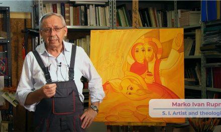 Прадстаўлена ікона X Сусветнай сустрэчы сем'яў, якую напісаў езуіт са Славеніі